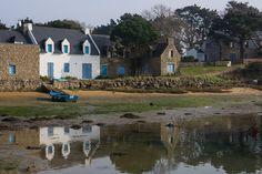 Sur la rivière d'Etel, à Plouhinec. Morbihan, Bretagne,