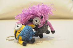 Mini minions, llaveros