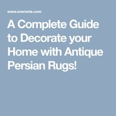 Add a rug to the living space that lacks enthusiasm, and problem solved. A rug may be considered an accessory, but it can be the foundation of an impressive space. From the elegance of an antique Pers. Square Rugs, Persian Rug, Decorating Your Home, Antiques, Amazing, Persian Carpet, Antiquities, Antique, Old Stuff