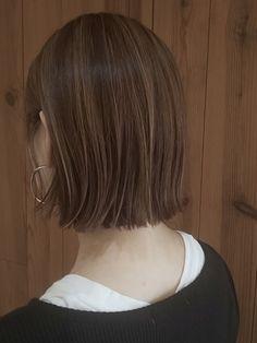 Short Hair Styles Easy, Medium Hair Styles, Hair Color Balayage, Hair Highlights, Cut My Hair, Hair Cuts, Short Grunge Hair, Hair Arrange, Asian Hair
