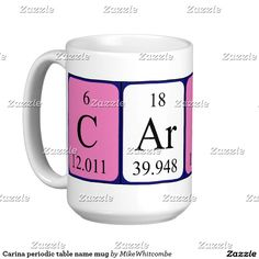 Laura periodic table name mug september 2016 purchases form my carina periodic table name mug urtaz Image collections