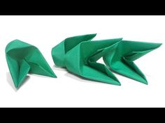 How To Fold 3D Origami Pieces Faster Tutorial - YouTube