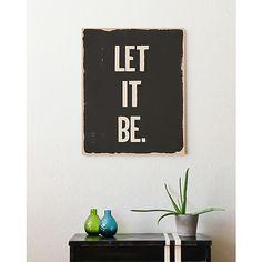 Let it be!!!