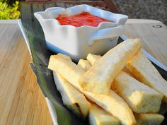 Fried yam and Pepper (Ghanaian food). YUM... this truly is amazing!
