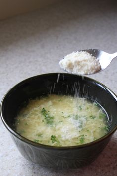 Egg Ribbon Soup | Brittany's Pantry - Quick, easy, and the perfect weeknight meal when the weather gets chilly!