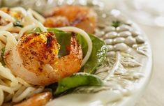 Garlic Lime Shrimp and Pasta