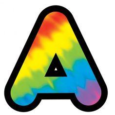Buchstabe / Letter - A | Buchstaben ~ Letter: A | Pinterest | Fonts