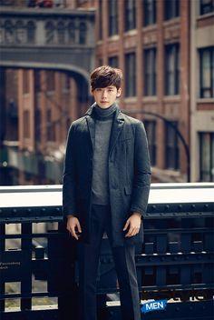Actor Lee Jong-suk in Korean InStyle Men Magazine (September Lee Jung Suk, Lee Hyun Woo, Lee Jong Hyun, Lee Jong Suk Kim Woo Bin, Asian Actors, Korean Actors, Korean Actresses, Korean Men, Korean Star
