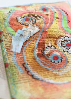 Masking tape and Art Journaling