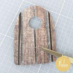 byMarleen: How to... Craft stencil Treehouse by Marleen Marianne Design, Stencil Designs, Treehouse, Banners, Dutch, Door Handles, Stencils, Mirror, Crafts