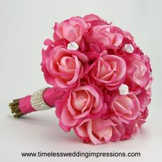 Swarovski Mini Rose Bouquet.  Love this but I'd add more white