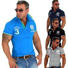 NEU Megatrendy Herren Kurzarm Polo Shirt TOP Design Hemd Poloshirt Polohemd AC09 | eBay