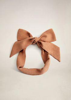 Bow hairband - Woman | Mango South Africa Mango, Bow Hairband, Wishlist Shopping, Decorative Bows, Teacher Style, Texture Design, Hair Band, Headbands, Usa