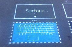 Microsoft Surface Graffiti Ads