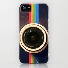 Modern Vintage inspired Camera! iPhone Case