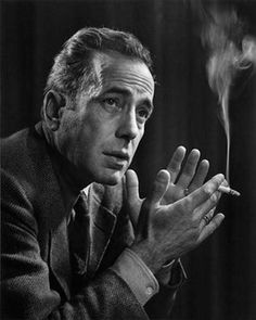Humphrey Bogart, 1946 - Photographer Yousuf Karsh