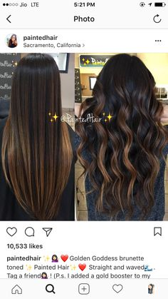Dark bayalage - All For Hair Color Balayage Brown Hair Balayage, Brown Blonde Hair, Balayage Brunette, Hair Color Balayage, Hair Color For Black Hair, Brown Hair Colors, Brunette Hair, Hair Highlights, Ombre Hair