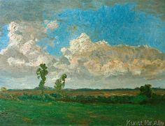 Fritz Overbeck - Gewitterwolken