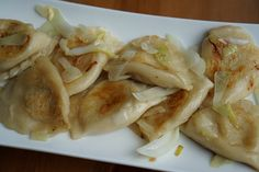Best pierogi in Krakow (and other delicious Polish dishes) Best Dishes, Food Dishes, Main Dishes, Side Dishes, Sauerkraut, Polish Dumplings, Kielbasa And Cabbage, Cabbage Stew, Peasant Food
