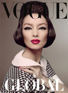 Fei Fei Sun photographed by Steven Meisel for Vogue Italia January 2013. Styled by Lori Goldstein.