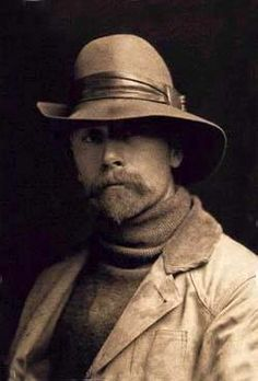 Edward Sheriff Curtis (February 16, 1868 – October 19, 1952)  ethnologist and photographer of the American West and of Native American peoples. He  made over 10,000 wax cylinder recordings of Indian language and music; took over 40,000 photographic images from over 80 tribes; recorded tribal lore and history; described traditional foods, housing, garments, recreation, ceremonies, and funeral customs; wrote biographical sketches of tribal leaders.  ~shelle~ The History Page