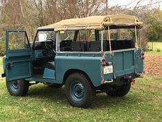 Land Rover Series IIA 1965 Maintenance of old vehicles: the material for new cogs/casters/gears could be cast polyamide which I (Cast polyamide) can produce