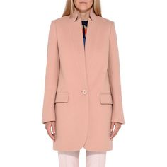 Blush Bryce Coat - STELLA MCCARTNEY