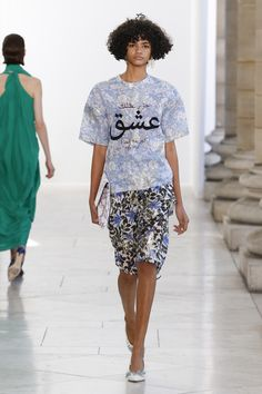 Christian Wijnants Spring 2018 Ready-to-Wear  Fashion Show Collection