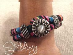 Aztec print bracelet is gorgeous at Stuffology!!!