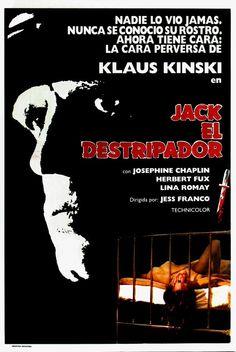 """JACK THE RIPPER (1976) by Jesús """"Jess"""" Franco"""