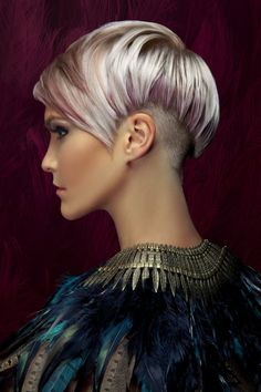 Love the color. Like a platinum blonde, pink, purple, greyish all over tone! <3 Swoon!!