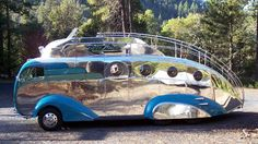 This has to be the coolest motorhome ever!