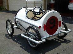 44 Gallon Barrel Drum Pedal Car