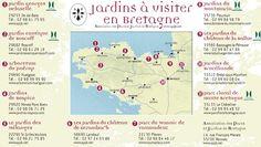 gardens in Bretagne