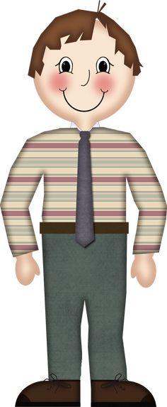 GrannyEnchanted.Com -Free Elements: Free Boy Digital Scrapbook Character Element 45