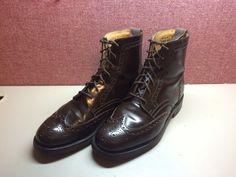 Churchs Gatcombe High Brogue Boot Size 8 $243 - Grailed