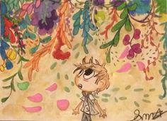 The colored garden-sm