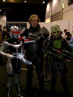 EDI cosplay Mass Effect 3