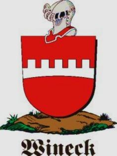 Wineck Family Crest / Wineck Coat of Arms [Personalized Gifts – Your own Family Crest order now ]