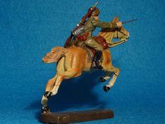 Elastolin Kavallerist mit beweglichem Arm 7,5 cm Maßstab   eBay