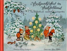 "Fritz Baumgarten: ""Weihnachtsfest in Wichtelland"" (""Christmas in Wichtelland"") German Christmas, Christmas Elf, Christmas Carol, Baumgarten, Advent Calenders, Illustrator, Vintage Christmas Images, Christmas Illustration, Illustrations And Posters"