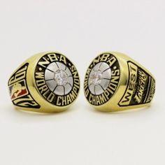 1972 Los Angeles Lakers Basketball World Championship Ring