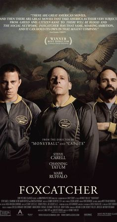 Foxcatcher (2014) - Directed by Bennett Miller. Sidney Lumet says you need to be able to boil your film down to one clear idea, and all else manifests itself from that. Foxcatcher is about loneliness, and how petty our disputes actually are. It has three of the best performances of the year. Carell and Tatum will leave you mesmerized and chilled, but it's Ruffalo who will break your heart.