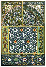 Resultado de imagen de tejidos bizantinos
