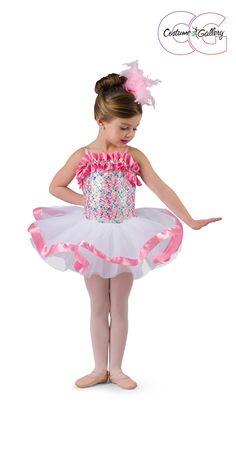6 Layer Classical Tutu Skirt Ballet Dance Costume w//Edge Ruffle Made In USA