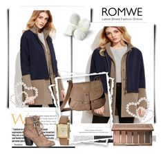 """""""Coat"""" by sanela1209 ❤ liked on Polyvore featuring Lucky Brand, Urban Decay, Anne Klein and maurices"""