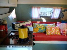 Gorgeous interior of caravan by yellowhouse 72 on flickr