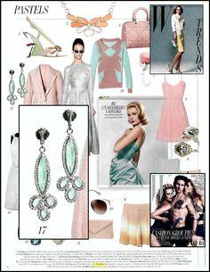 @Armenta: Trend: Pastels, @W magazine, June 2012