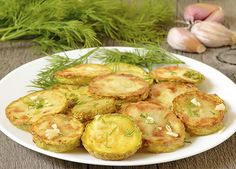 Recipes for Greek fried zucchini Fried Zucchini Recipes, Zucchini Fries, Veggie Recipes, Vegetarian Recipes, Veggie Fries, Veggie Meals, Greek Appetizers, Appetizer Recipes, Easy Vegetable Dishes
