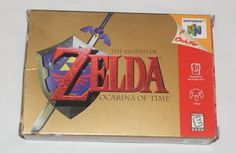 THE LEGEND OF ZELDA: OCARINA OF TIME BOX ONLY! (NINTENDO 64, 1998) NO GAME!! N64